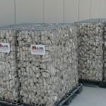 Gabbioni in pietrame per muri di contenimento